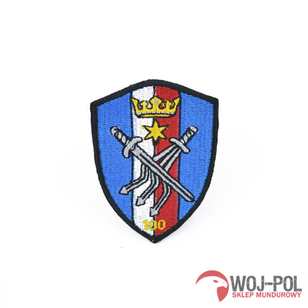 100 batalion Łączności naszywka wyjściowa emblemat