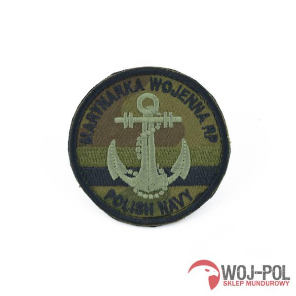 Naszywka emblemat marynarki wojennej mw maskowany