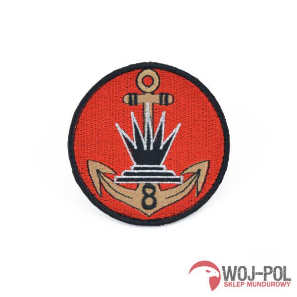 Naszywka 8 kołobrzeski batalion saperów