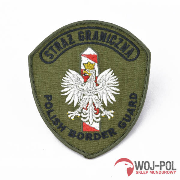Emblemat polish border guard sg haft nowy wzÓr!