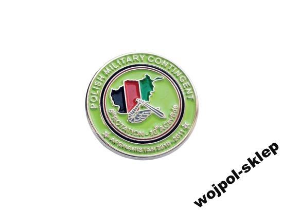 Afganistan 8 zmiana 2010-2011 pins