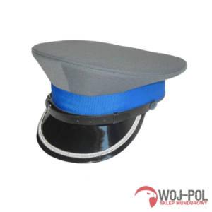 Czapka garnizonowa oficer młodszy Policji