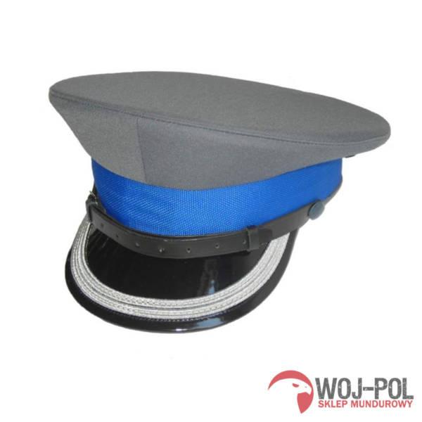 Czapka garnizonowa policji – oficer starszy