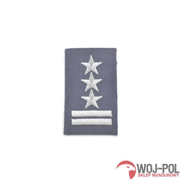Stopień na furażerkę stalową pułkownik haftowany