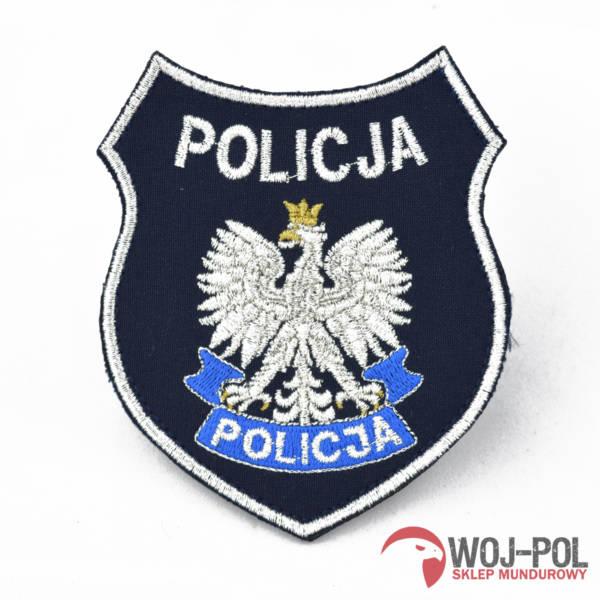 Emblemat granatowy policja