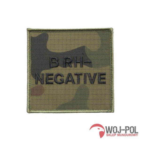 Grupa krwi b rh- (negative) na mundur wz 2010