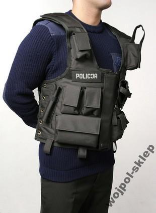 Kamizelka taktyczna policja pełna