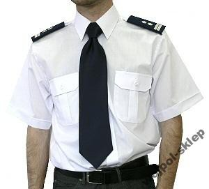 Koszula-biała-z-krótkim-rękawem-kołnierzyk-43-44