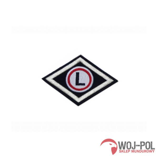 Emblemat policji romb służba wspomagająca
