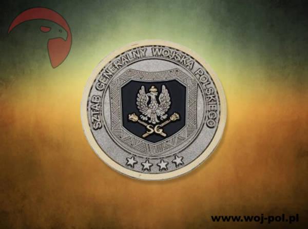 Medal coin sztab generalny wojska polskiego