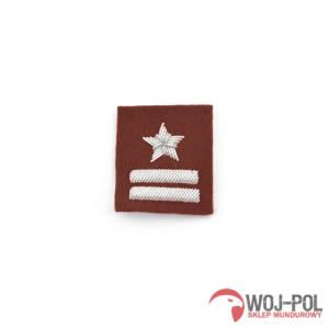 Major na beret bordowy haft bajorkiem