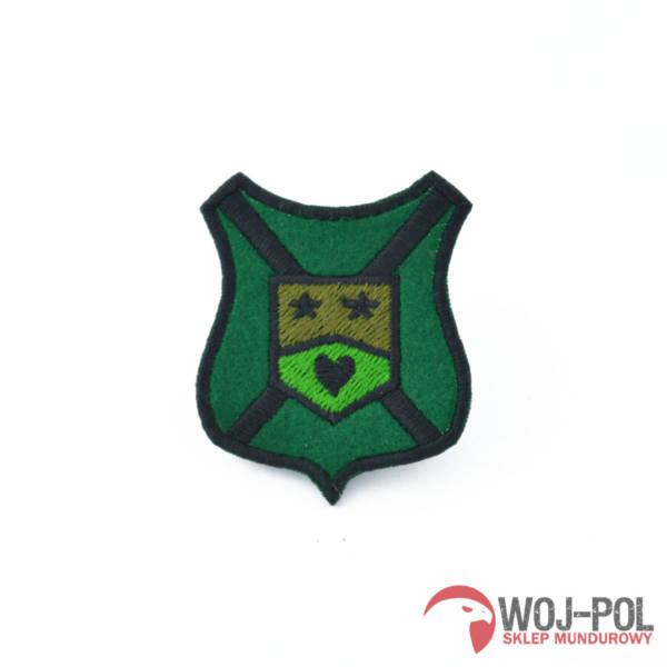 Naszywka 10 batalionu zmechanizowanego Świętoszów polowa