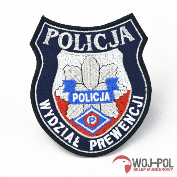Naszywka wydział prewencji policja nowy wzór