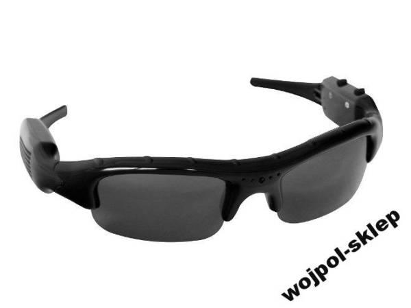 Okulary szpiegowskie z mini kamerką
