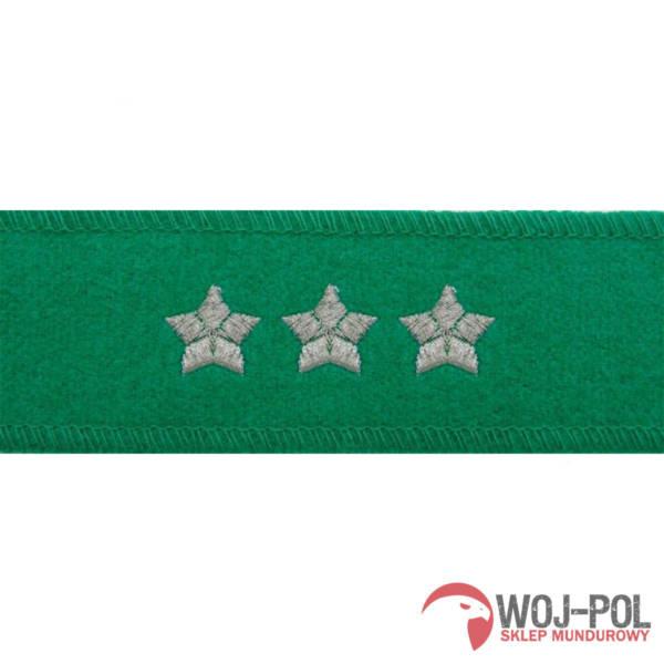 Otok do czapki garnizonowej straży granicznej – porucznik, pułkownik