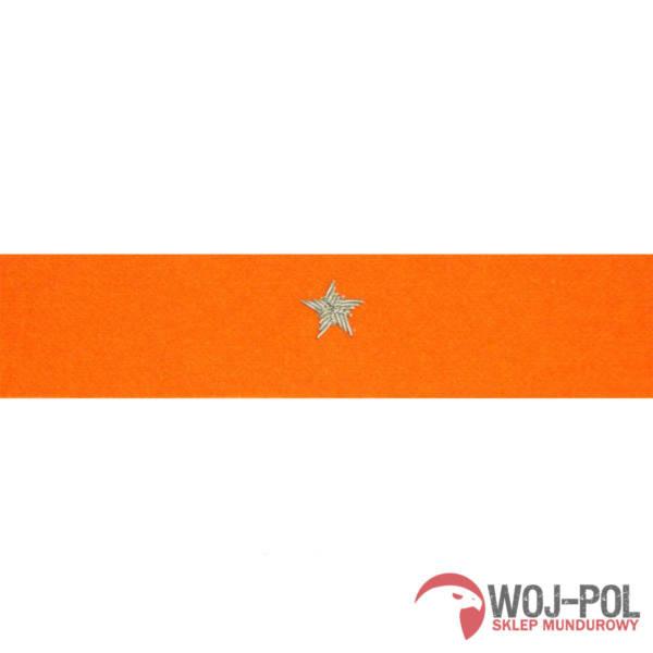 Otok pomarańczowy do rogatywki wojska polskiego – chorąży, major