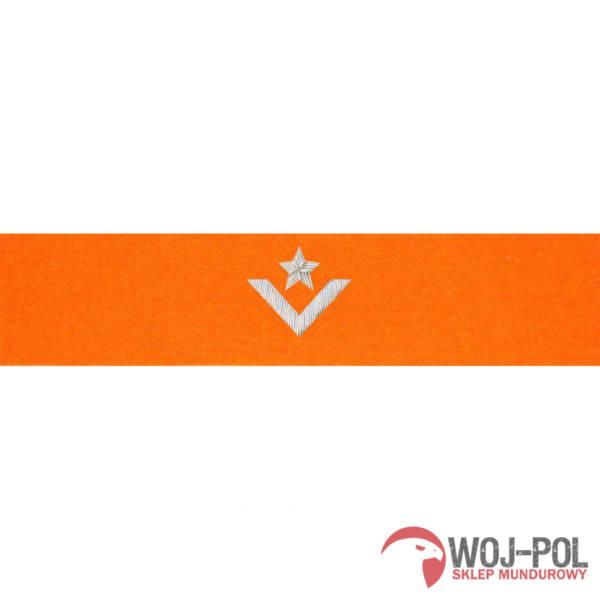Otok pomarańczowy do rogatywki wojska polskiego – młodszy chorąży