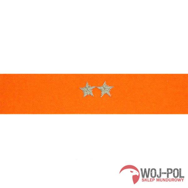 Otok pomarańczowy do rogatywki wojska polskiego – starszy chorąży, podporucznik, podpułkownik