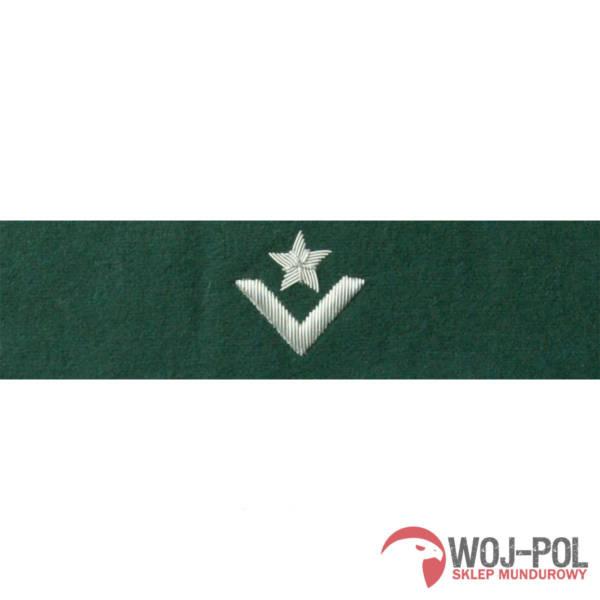 Otok zielony do rogatywki wojska polskiego – młodszy chorąży