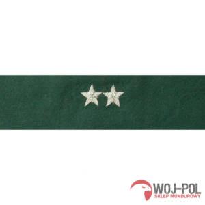 Otok zielony do rogatywki Wojska Polskiego starszy chorąży, podporucznik, podpułkownik