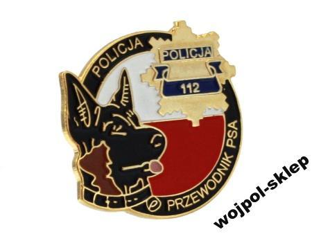 Policja k-9 przewodnik psa kolor gwiazda pins