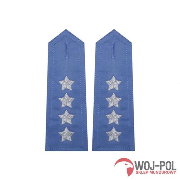 Pagony niebieskie do koszuli sw – kapitan