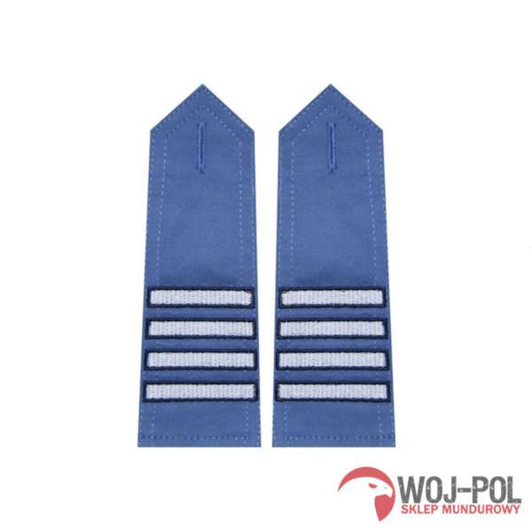 Pagony niebieskie do koszuli sw – plutonowy