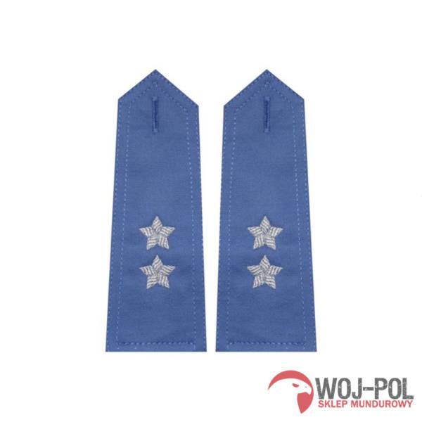 Pagony niebieskie do koszuli sw – podporucznik