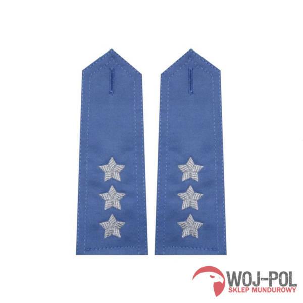 Pagony niebieskie do koszuli sw – porucznik