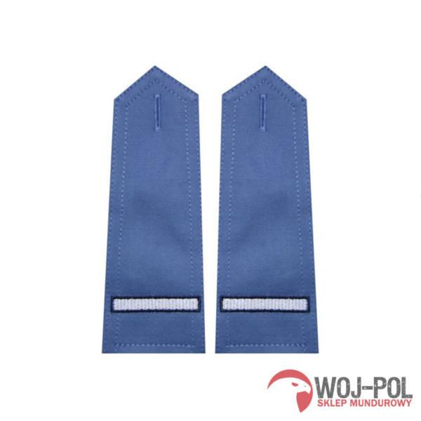 Pagony niebieskie do koszuli sw – starszy szeregowy