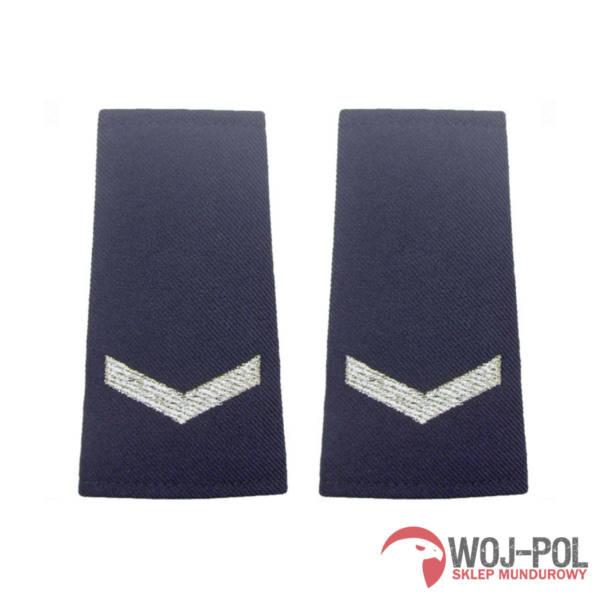 Pagony granatowe policji – sierżant