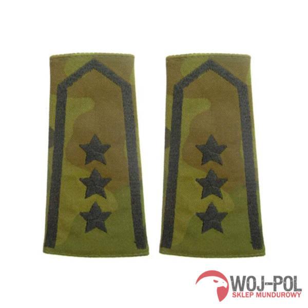 Pagony, pochewki polowe chorąży sztabowy czarny haft
