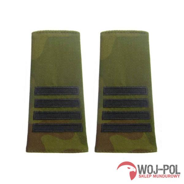 Pagony, pochewki polowe plutonowy czarny haft