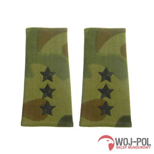 Pagony, pochewki polowe porucznik czarny haft