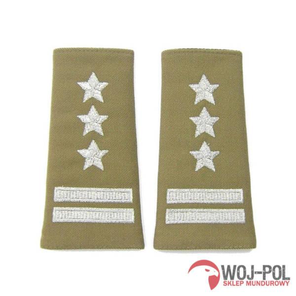 Pagony wyjściowe sg khaki – pułkownik