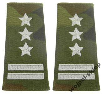 Pagony polowe szary haft – pułkownik
