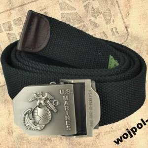 Pas-pasek-USMC-czarny-TEXAR