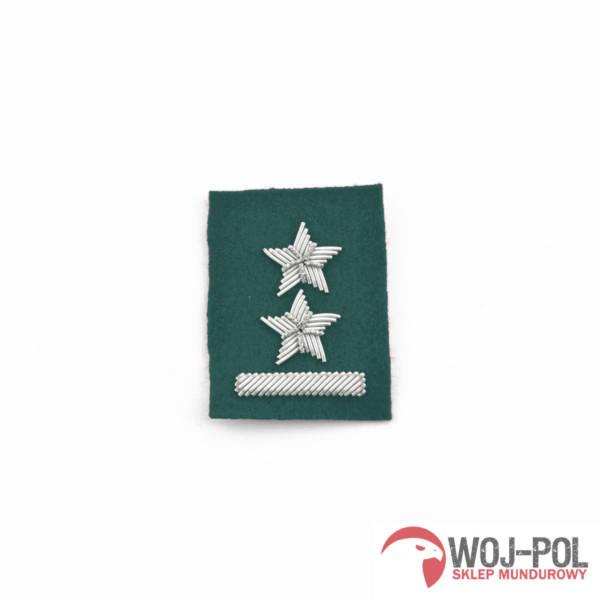 Podporucznik na beret zielony haftowany bajorkiem