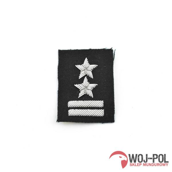 Podpułkownik na beret czarny haftowany bajorkiem