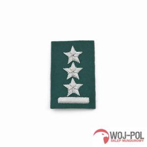 Porucznik na beret zielony haft bajorkiem