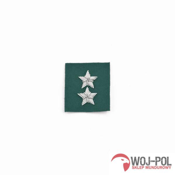 St. chorąży na beret zielony haftowany bajorkiem