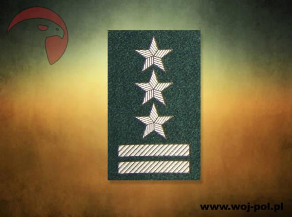Stopień na beret zielony wp pułkownik