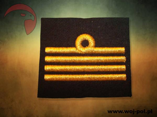 Stopień na sweter kurtkę mw kapitan marynarki