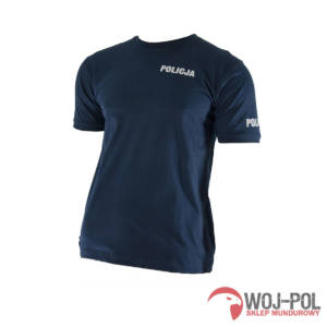 T-shirt granatowy Policja 1