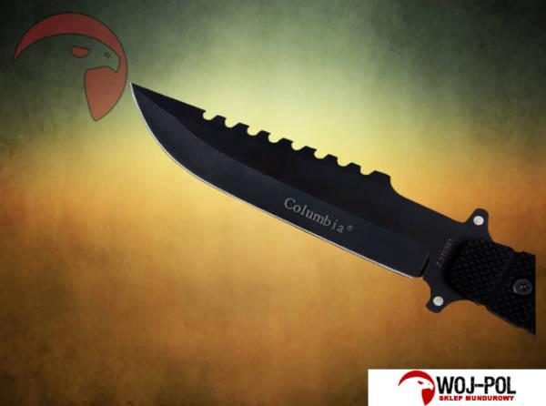 Nóż survivalowy columbia