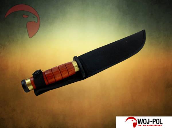 Wojskowy nóż survivalowy kandar (ka-bar)