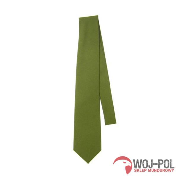 Krawat khaki zielony wojska polskiego wp