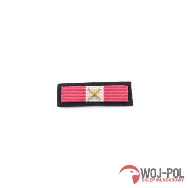 Baretka medal za dŁugoletniĄ sŁuŻbĘ  brĄzowy