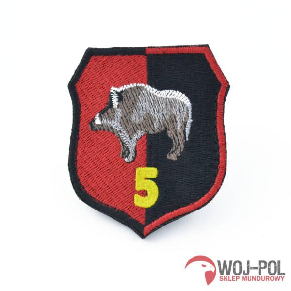 5 pułk inżynieryjny naszywka