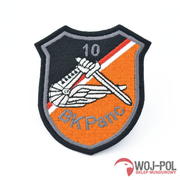 Odznaka emblemat 10 bkpanc (wyjściowy)